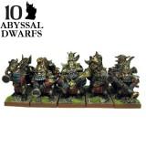 Abyssal Dwarf Decimators (10 Figures)