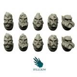 Głowy Kosmicznych Rycerzy Wilków