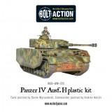 Plastic Panzer IV Ausf. F1/G/H medium tank