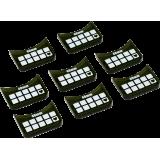 Medium-Base Wound Markers