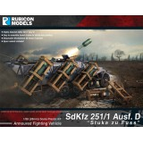 Sdkfz 251 Halftrack Stuka am Fuss