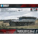 Sdkfz 251 Halftrack 3 in 1