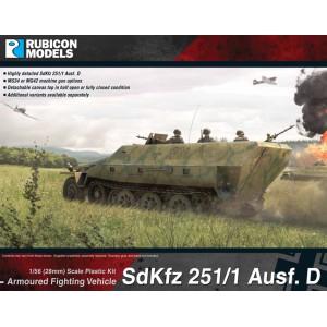 SdKfz 251/1 Halftrack Ausf. D