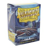 Dragon Shield Standard Sleeves - Matte Blue (100 Sleeves)