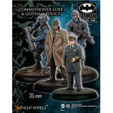 Commissioner Loeb and Gotham Police