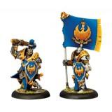 Sword Knight Officer & Standard Bearer