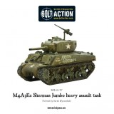 M4A3E2 Sherman Jumbo heavy assault tank