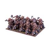 Dwarf Berserker Brock Riders Regiment