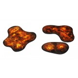 Piankowy teren 2D - Płonący las
