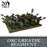 Orc Greatax Regiment (20)