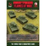 T-26 obr 1939 Light Tankovy Company