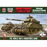 Sherman Armoured Platoon (Plastic)