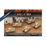 Crusader Armoured Troop (Plastic)