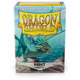 Dragon Shield Standard Sleeves - Matte Mint (100 Sleeves)