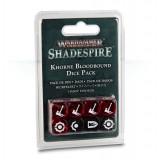 Khorne Bloodbound Dice Pack - Kostki do gry Warhammer Underworlds: Shadespire