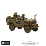 US Airborne Jeep