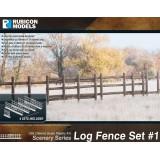 Log Fence Set 1
