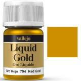 Vallejo Liquid Red Gold