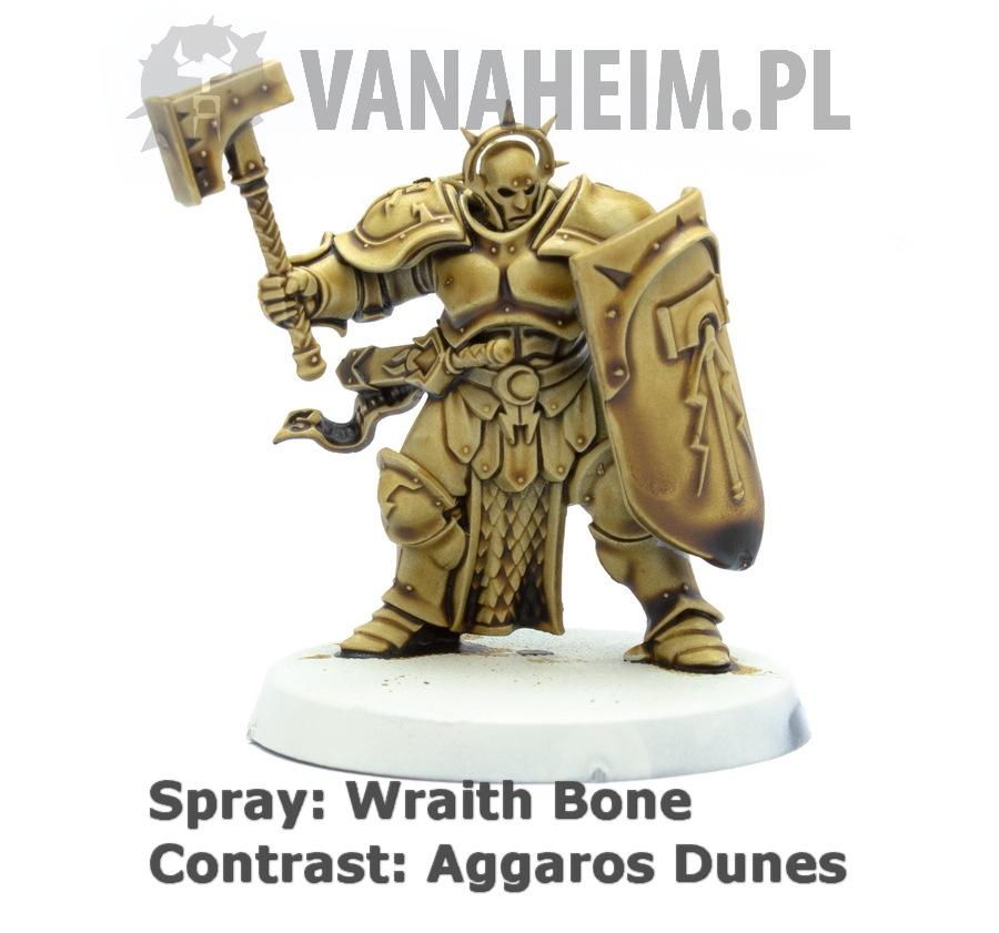 Citadel Contrast: Aggaros Dunes on Wraith Bone