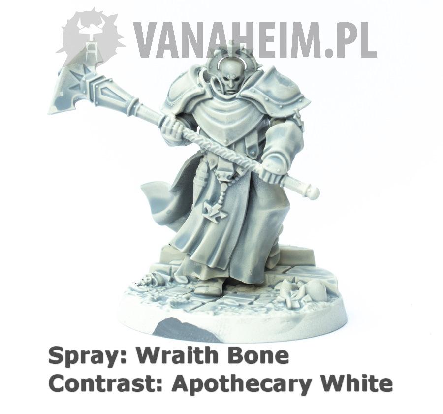 Citadel Contrast: Apothecary White on Wraith Bone