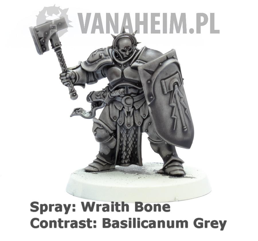 Citadel Contrast: Basilicanum Grey on Wraith Bone