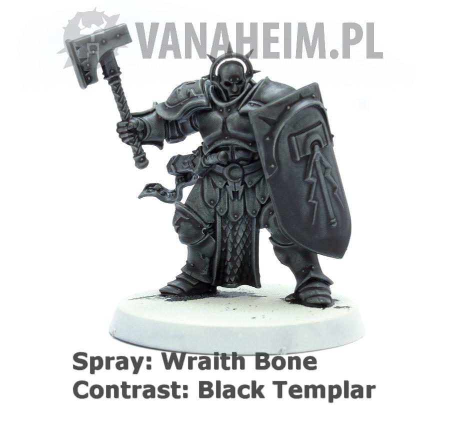 Citadel Contrast: Black Templar on Wraith Bone