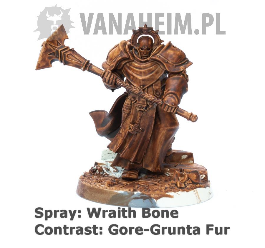 Citadel Contrast: Gore-Grunta Fur on Wraith Bone