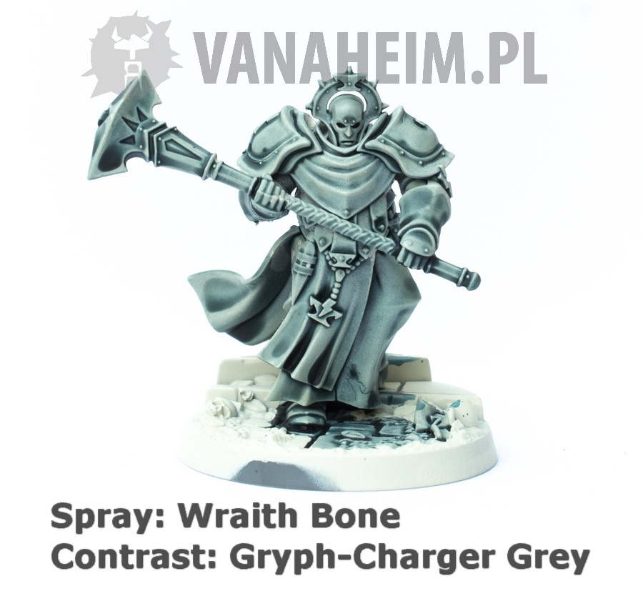 Citadel Contrast: Gryph-Charger Grey on Wraith Bone