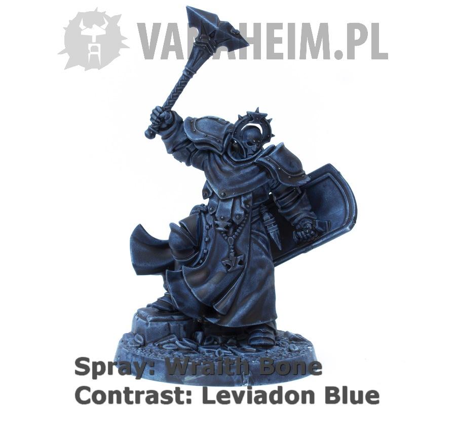Citadel Contrast: Leviadon Blue on Wraith Bone