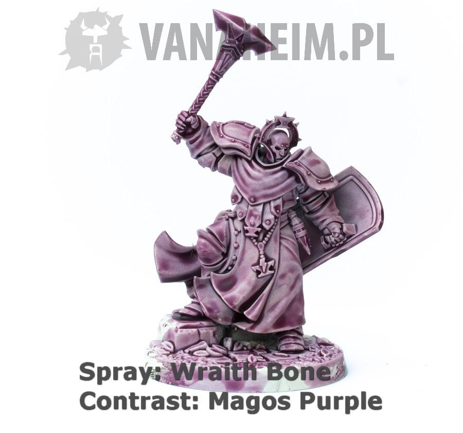 Citadel Contrast: Magos Purple on Wraith Bone