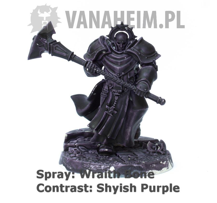 Citadel Contrast: Shyish Purple on Wraith Bone