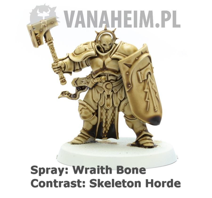 Citadel Contrast: Skeleton Horde on Wraith Bone