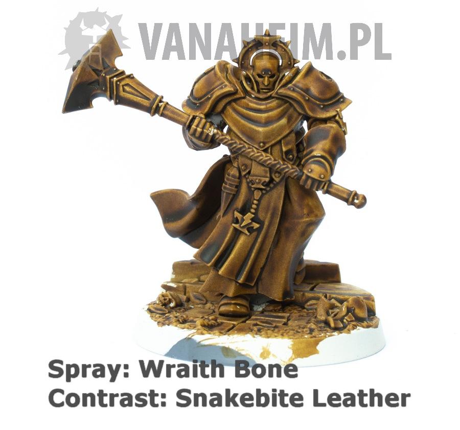 Citadel Contrast: Snakebite Leather on Wraith Bone