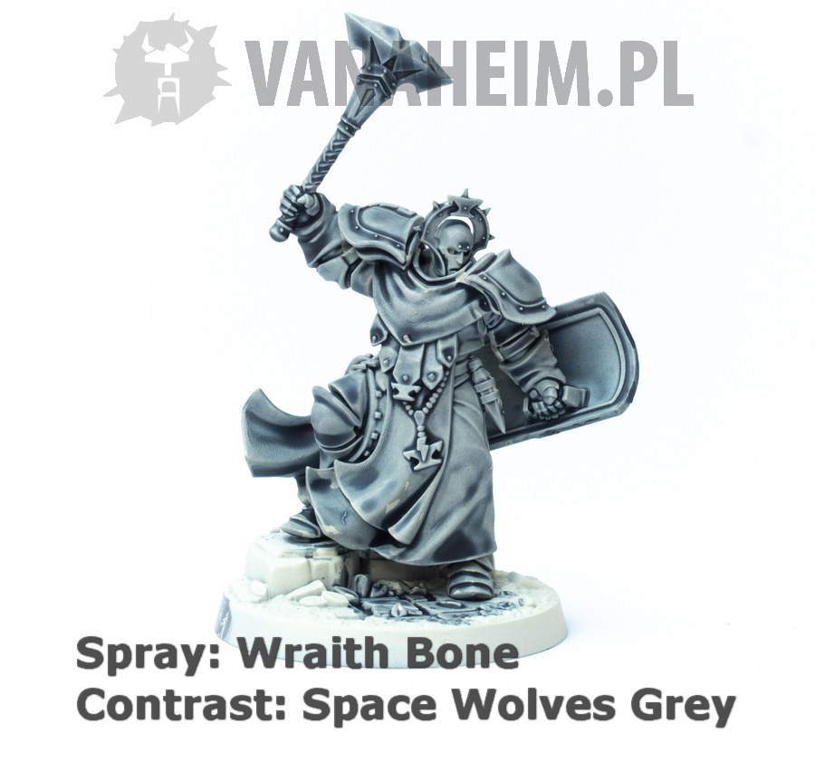 Citadel Contrast: Space Wolves Grey on Wraith Bone