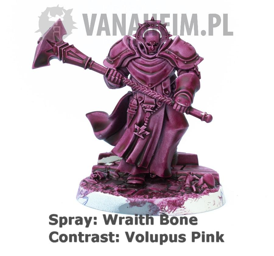 Citadel Contrast: Volupus Pink on Wraith Bone