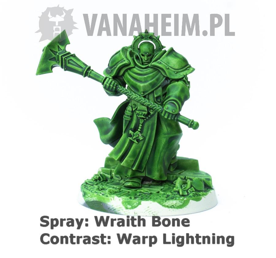 Citadel Contrast: Warp Lightning on Wraith Bone