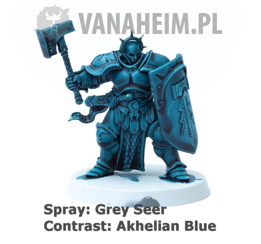 Citadel Contrast: Akhelian Green on Grey Seer