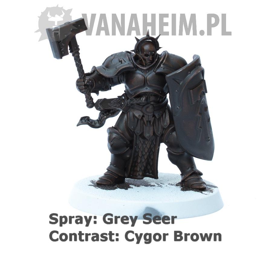 Citadel Contrast: Cygor Brown on Grey Seer