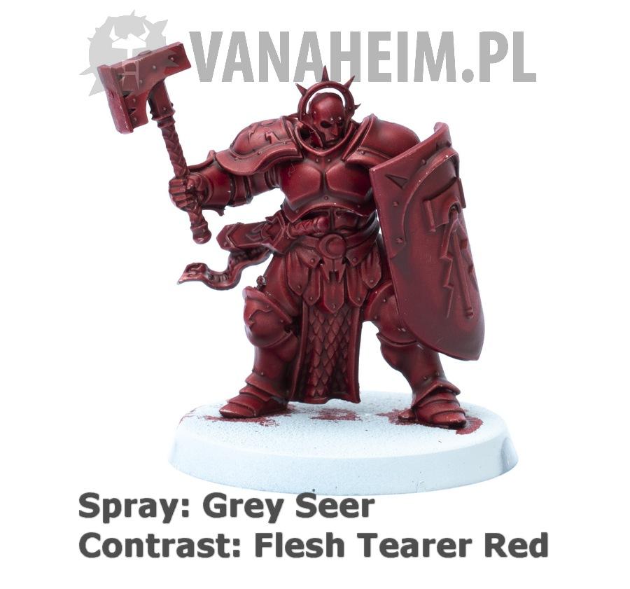 Citadel Contrast: Flesh Tearers Red on Grey Seer