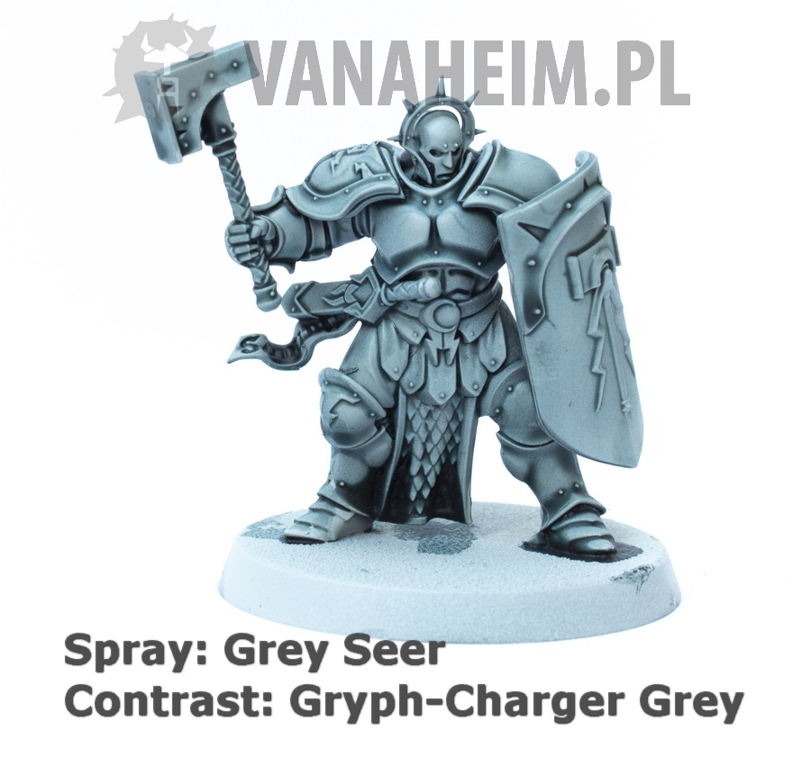 Citadel Contrast: Gryph-Charger Grey on Grey Seer