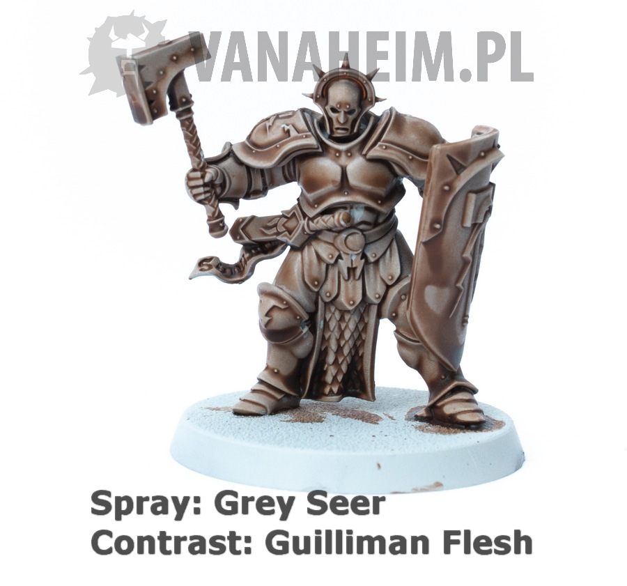 Citadel Contrast: Guilliman Flesh on Grey Seer