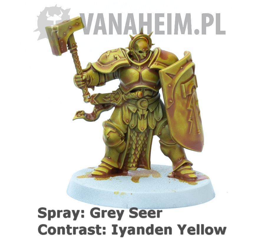 Citadel Contrast: Iyanden Yellow on Grey Seer