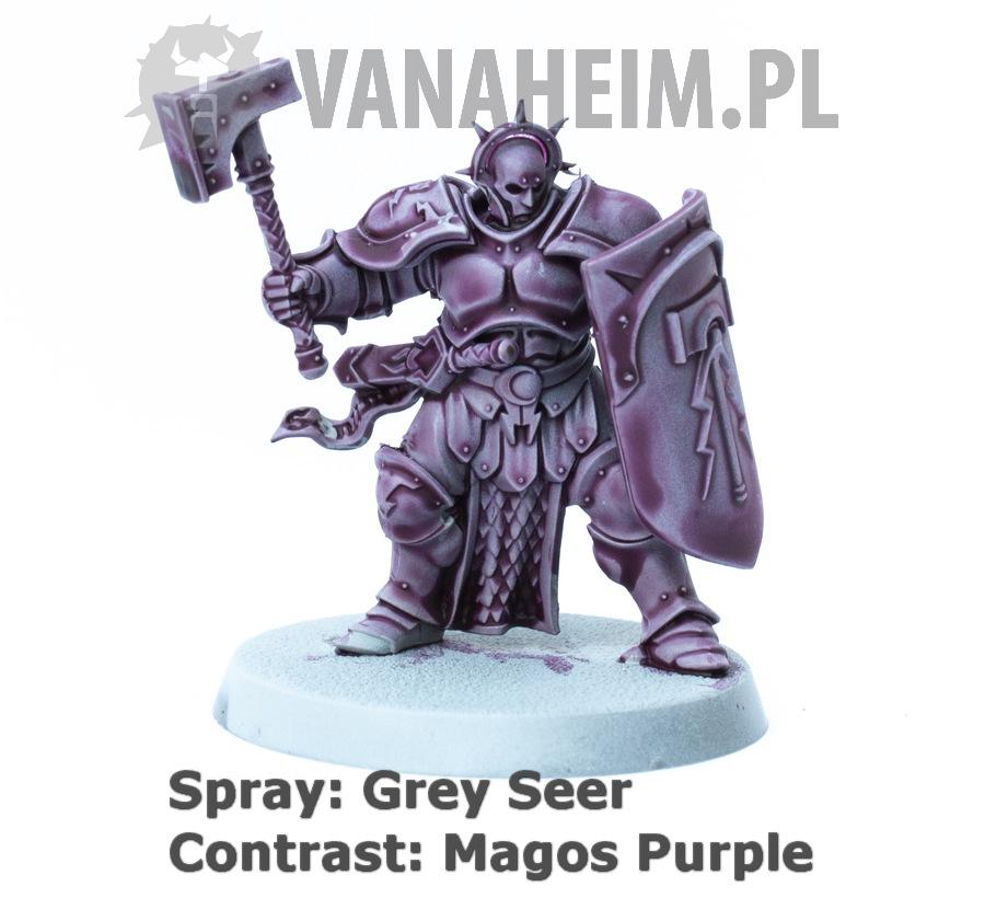 Citadel Contrast: Magos Purple on Grey Seer