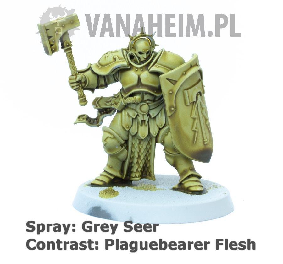 Citadel Contrast: Plaguebearer Flesh on Grey Seer