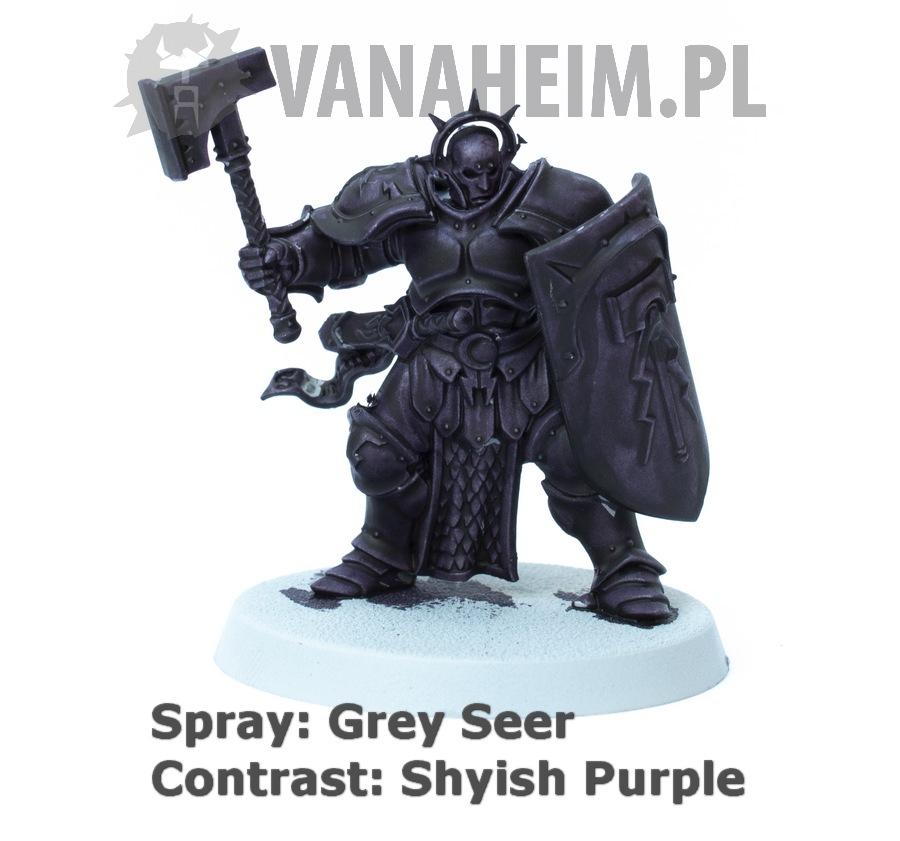 Citadel Contrast: Shyish Purple on Grey Seer