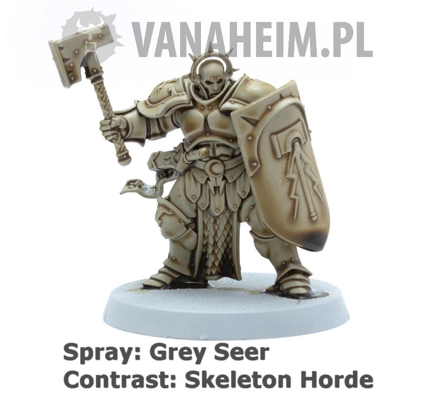 Citadel Contrast: Skeleton Horde on Grey Seer