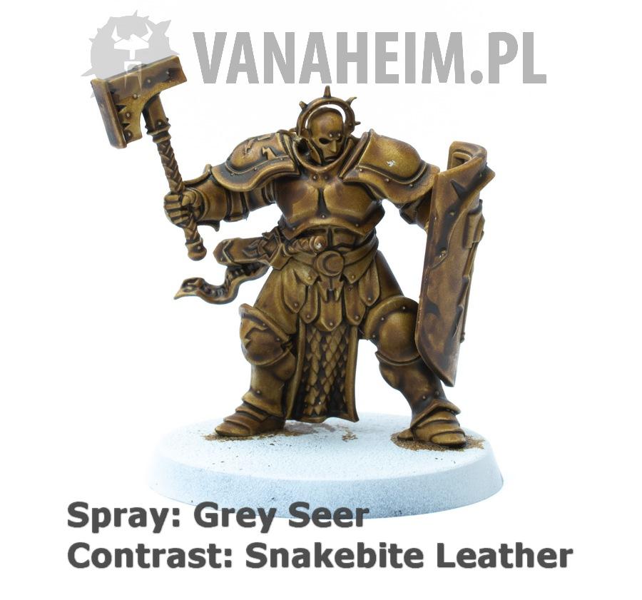 Citadel Contrast: Snakebite Leather on Grey Seer