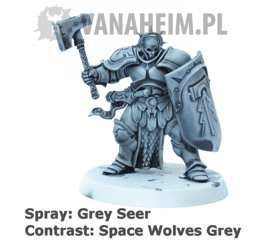 Citadel Contrast: Space Wolves Grey on Grey Seer