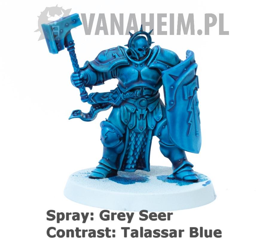 Citadel Contrast: Talassar Blue on Grey Seer