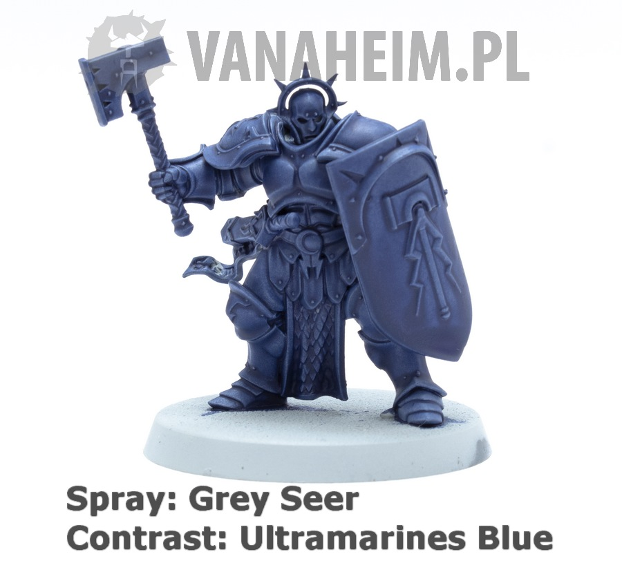 Citadel Contrast: Ultramarines Blue on Grey Seer